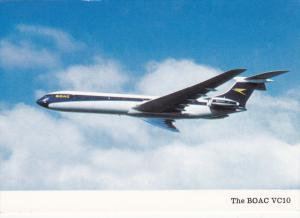 Airplane in Flight, The B.O.A.C. VC10, 50-70's