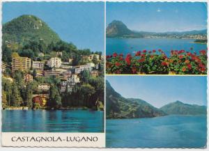 CASTAGNOLA - LUGANO, Switzerland, used Postcard