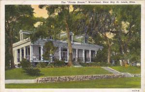 The Pirate House Waveland Near Bay St Louis Mississippi Curteich