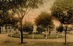 TX - San Antonio. Milam Park, Ben Milam's Grave