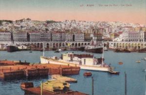 Algeria Alger Une vue du Port Las Quai