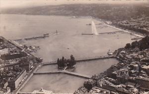 RP; Aerial View of La Rade, GENEVE, Switzerland, 00-10s