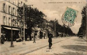 CPA AK JOINVILLE-le-PONT La Route de la Brie (671959)