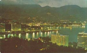 Condominio Y Hotel Club De Pesca, Vista Nocturna, Acapulco, Gro., Mexico, 194...