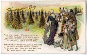 Thanksgiving - Pilgrams