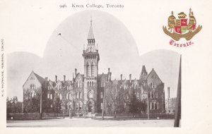 TORONTO, Ontario, Canada, 00-10s ; Knox College