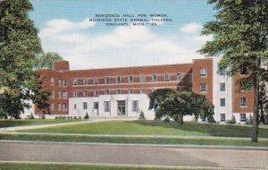 Residence Hall For Women Michigan State Normal College Ypsilanti Michigan 1950