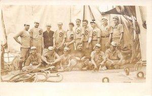 USS Solace Team USS Solace Base ball Team, Baseball, Unused