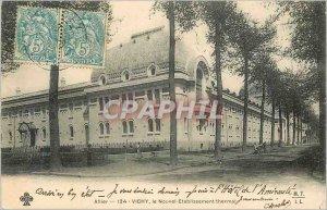 Old Postcard Vichy Allier Le Nouvel Etablissement Thermal