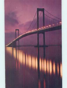 Pre-1980 BRIDGE SCENE Deepwater New Jersey To Wilmington Delaware DE H7990