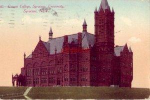 CROUSE COLLEGE, SYRACUSE UNIVERSITY, SYRACUSE, NY 1915