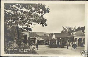 slovakia, PIESTANY, Staré Kúpele, Spa Old Baths 1932 RP