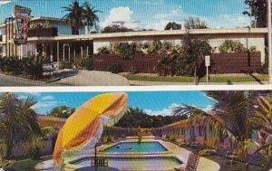 Florida Saint Petersburg Cavalier Motel With Pool 1960