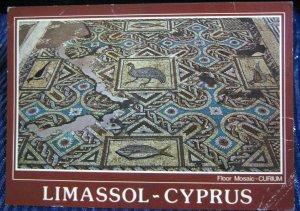 Cyprus Limassol Floor Mosaic Curium - posted 1985