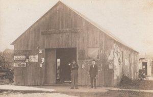 RP: NORWICH , Kansas , 1909 ; Blacksmith shop