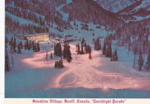 Sunshine Village, Torchlight Parade, Banff, Alberta, Canada, 1960-1970s