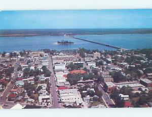 Pre-1980 AERIAL VIEW Fort Myers Florida FL A5102