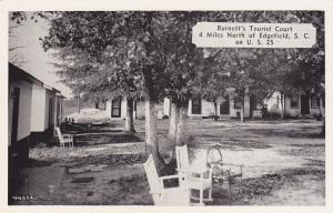EDGEFIELD , South Carolina, 40-60s; Burnett's Tourist Court
