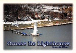 Grosse Ile Lighthouse Detroit River Lighthouse Unused