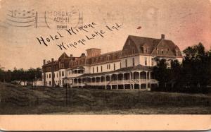 Indiana Winona Lake Hotel Winona 1908