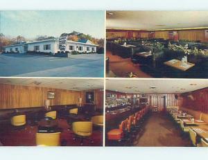 Unused Pre-1980 RESTAURANT SCENE Hopkinton Massachusetts MA hk4725-23