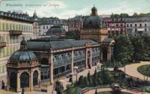 Weisbaden, Kochbrunnen mit Anlagen, Hesse, Germany, 00-10s