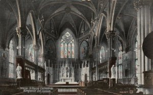 KINGSTON, Ontario, Canada, 1900-10s; Interior, St. Mary's Cathedral
