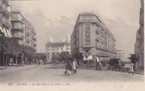 La Rue d'Isly Et La Poste, Alger, Algeria, Africa, 1910-1920s