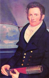 Capt. John Howland 1776 through 1849 Whale Related Unused