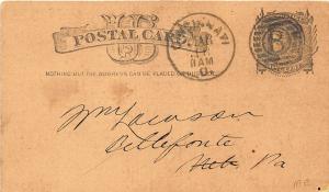 Cincinnati OH Scott's Sheet Iron Roofing Pioneer 1873 Postal Card