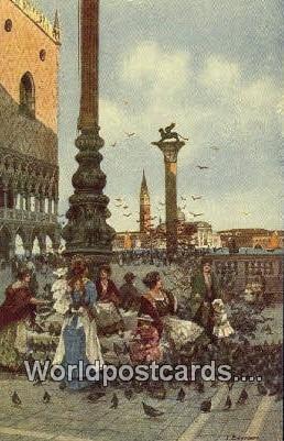 Piazzetta e Piccioni Venezia, Italy Unused