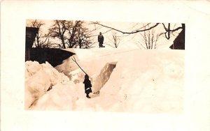 Blizzard of 1914 Belgium Writing on back