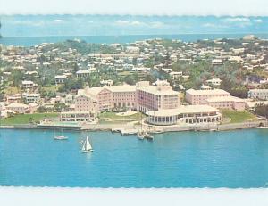 Pre-1980 PRINCESS HOTEL Hamilton Bermuda F6451