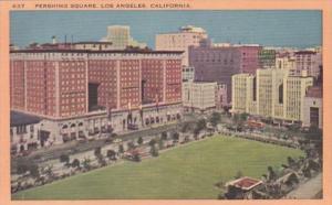 California Los Angeles Pershing Square