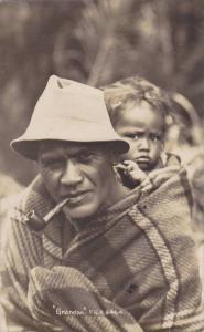 RP: Grandpa , Maori Native portrat, New Zealand , 00-10s