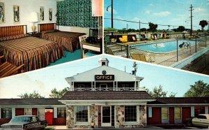Michigan Detroit City Motel 1973