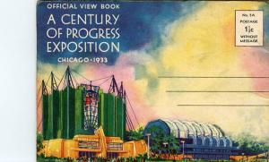 Booklet - IL - Chicago, A Century of Progress Exposition- 1933.  21 Views + C...