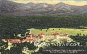 Mount Washington, White Mtns in Bretton Woods, New Hampshire