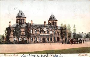 England Leicester Victoria Park Building 1904