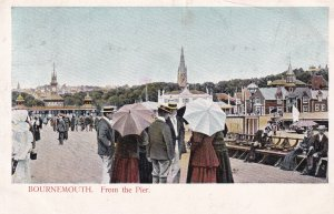 BOURNEMOUTH, Hampshire, England, PU-1905; Bournemouth From The Pier