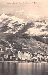Switzerland Postcard Montreux Palace