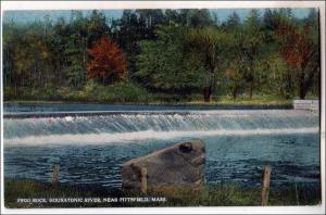 Frog Rock, Housatonic River near Pittsfield MA