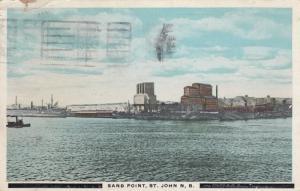 ST. JOHN , New Brunswick , Canada , PU-1923 ; Sand Point