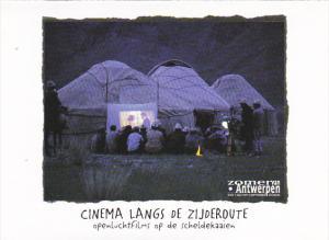 Belgium Zomer Van Antwerpen Cinema Langs De Zijderoute