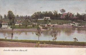 Illinois Peoria Lake Glen Oak Park 1908