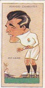 Player Vintage Cigarette Card Football Caricatures By Mac 1927 No 42 H C Laird