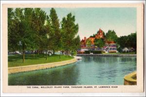 The Canal, Wellesley Island Park, 1000 Islands