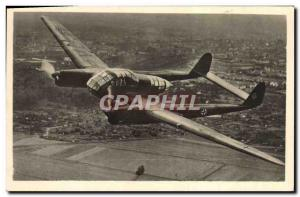 Postcard Modern Army Focke Wulf FW 189 Nahaufklarer Jet Aviation