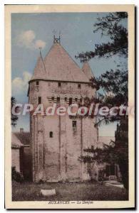 Postcard Old Auxances Le Donjon