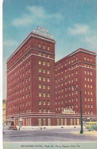 Pennsylvania Erie The Richfoed Hotel